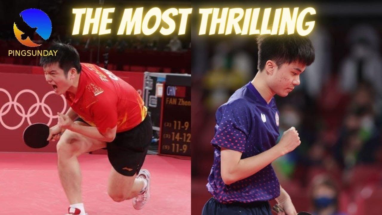 Download Fan Zhendong vs Lin Yunju   Semi-final Olympics 2020