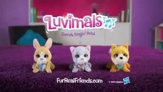 Поющие зверята FurReal Friends Щенок, зайчик, котенок