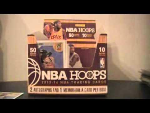 SportsCardForum.com Live Break Review: 2013/14 Panini NBA Hoops Basketball Hobby Box