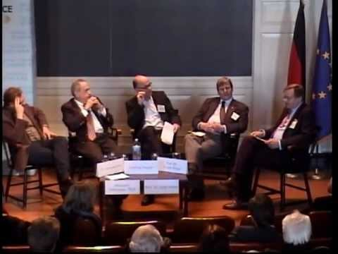 Energy Panel @ German Conference at Harvard 2012