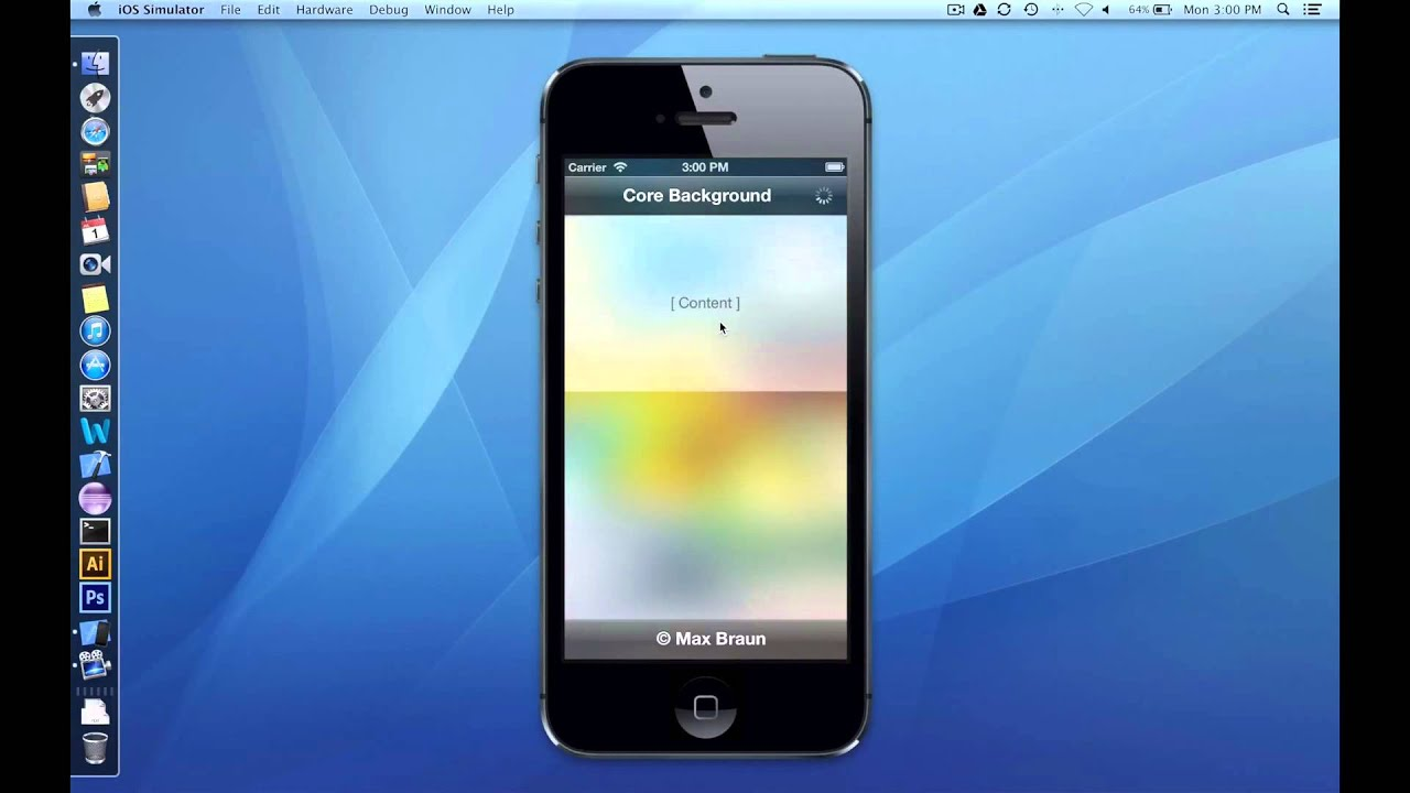 Background image xcode 6 - Core Background For Ios Github Flickr Objective C Gaussian Blur Light Effects Youtube