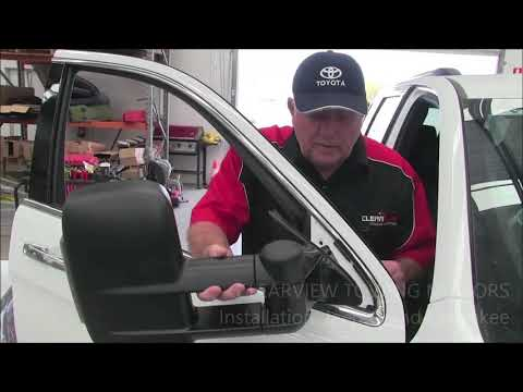 Clearview Mirrors Usa Presents Install Mirrors On Jeep Grand
