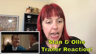 Stan & Ollie Trailer #1 (2018) - Reaction Video!