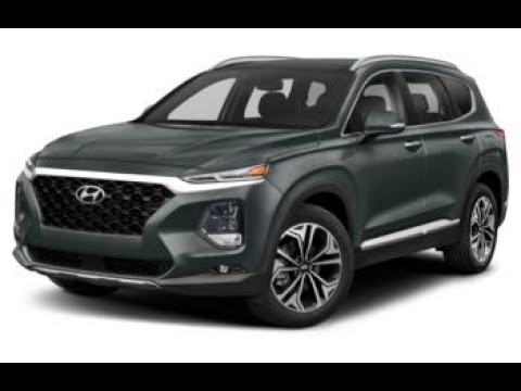 2020 Hyundai Santa Fe Ultimate Rainforest Youtube