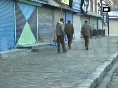 Shutdown in Kashmir to protest killing of youth