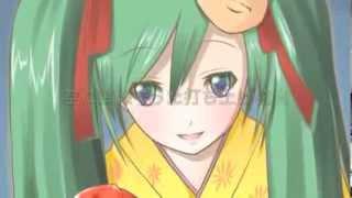 Watamote ED 04 - Hatsune Miku - natsu matsuri (Dance ver.)