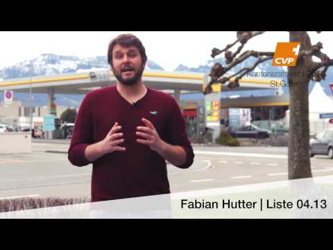 Fabian Hutter CVP Rheintal Rheintaler Verkehr