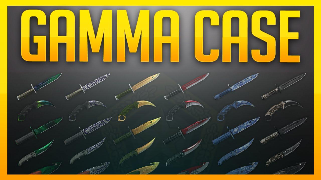 Gamma 2 case knives