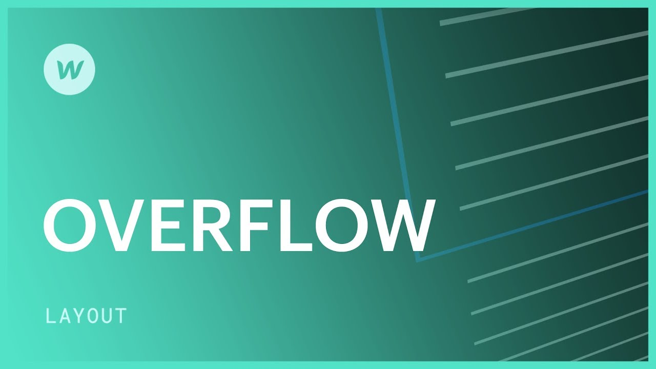 Hide content overflowing its wrapper | Webflow University