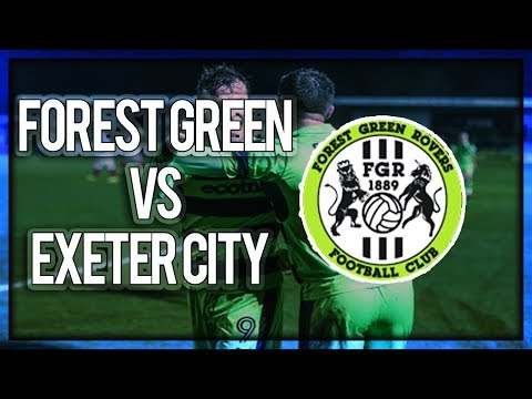Forest Green Rovers vs Exeter City - FA Cup Second Round 02/12/17