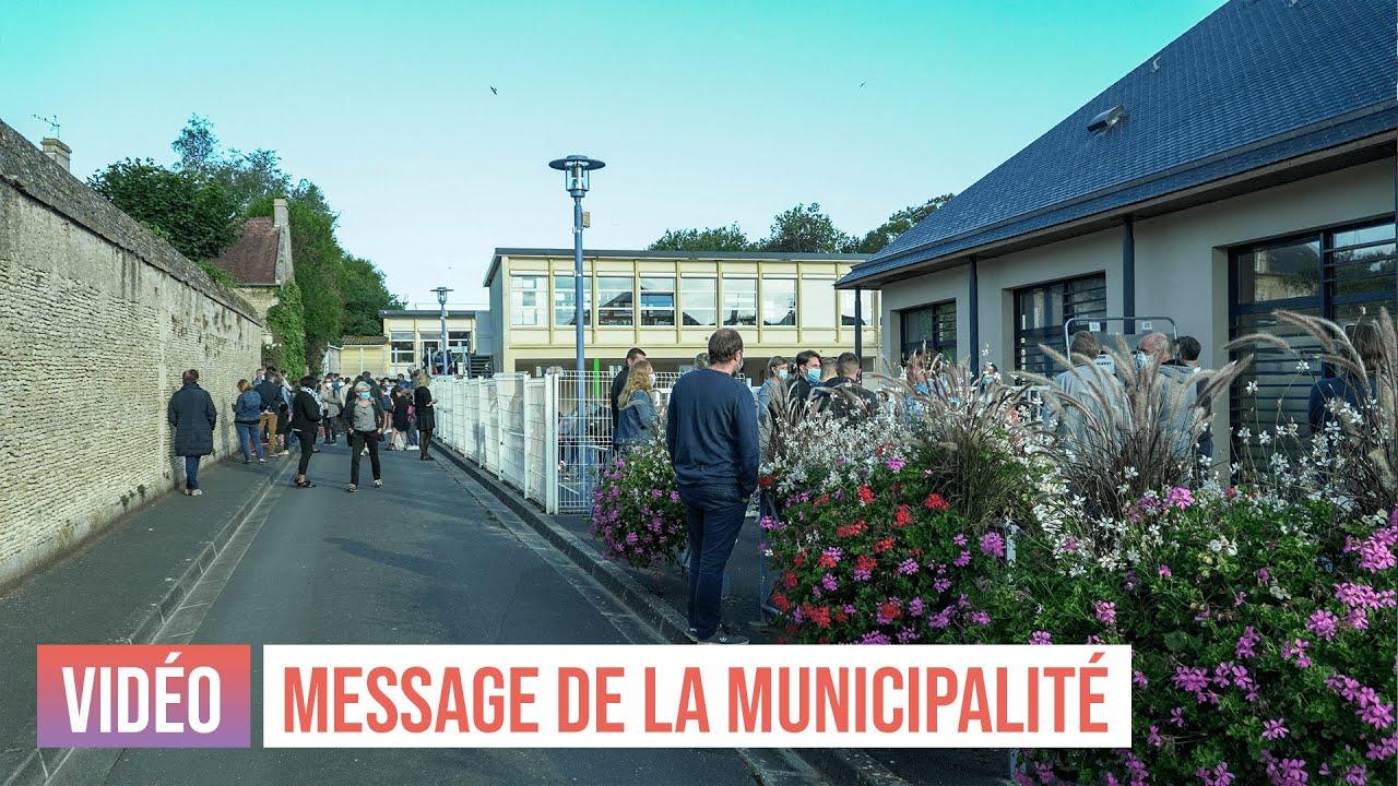 Rentrée 2020 - Message de la municipalité aux parents d'élèves