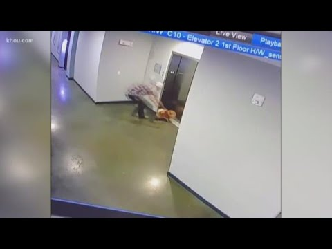 Brother Wease - WATCH: Texas Man Saves Dog After Leash Gets Stuck In Elevator Door