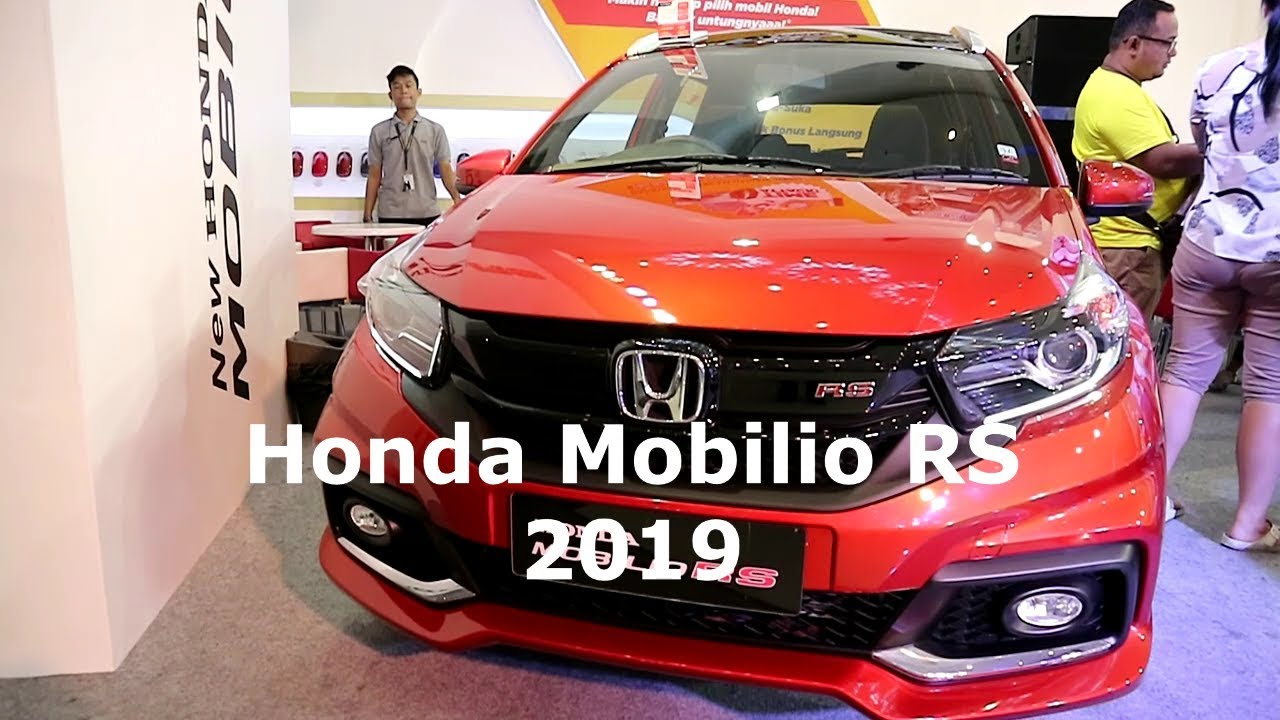 New Honda Mobilio Rs 2019 Phoenix Orange Pearl Colour Exterior And