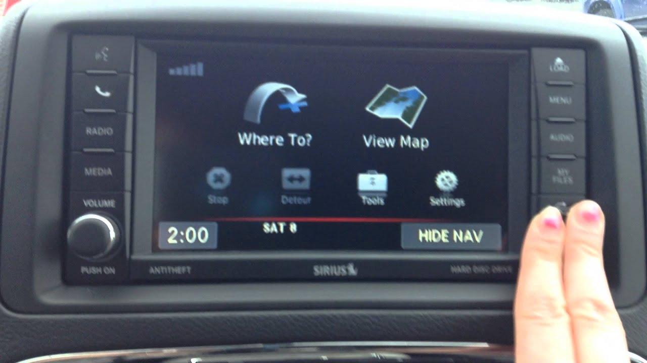 Add On Navigation 2015 Dodge Caravan | Autos Post