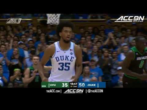 Utah Valley vs Duke College Basketball Condensed Game 2017