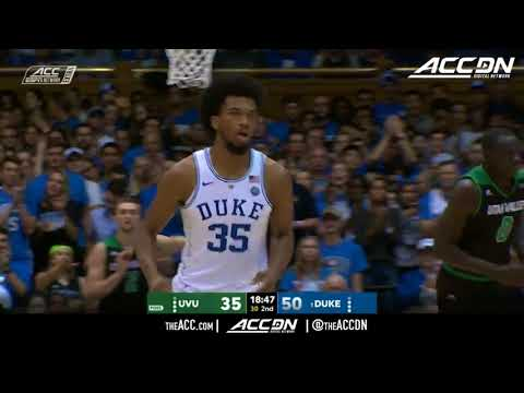 Utah Valley vs Duke College Basketball Condensed Game 2017