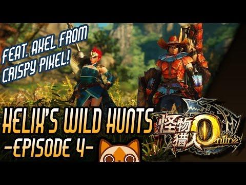 Helix's Wild Hunts - (feat. Crispy Pixel) [Yellow Caeserber]   Monster Hunter Online Coop