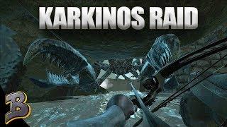 Karkinos Raid! It's Crab Warfare!  (Aberration PVP) Ark Survival Evolved Ep 18