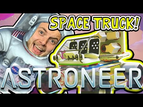 Make AWESOME SPACE TRUCK!! - ASTRONEER GAMEPLAY! #2 - W/AshDubh Images