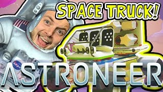 AWESOME SPACE TRUCK!! - ASTRONEER GAMEPLAY! #2 - W/AshDubh thumbnail