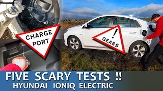 5 Scary IONIQ Electric Tests! (Gears, EPB, Charge Port Stuff)