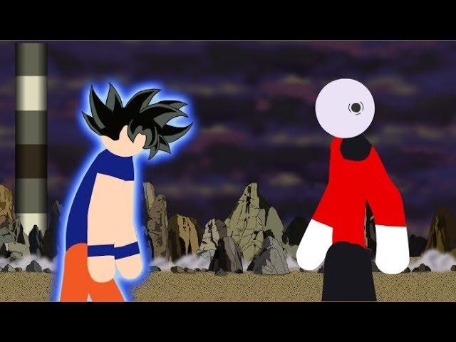Goku Vs Jiren Stick Fight