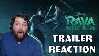 Disney's Tomb Raider?! - Raya and the Last Dragon Trailer Reaction