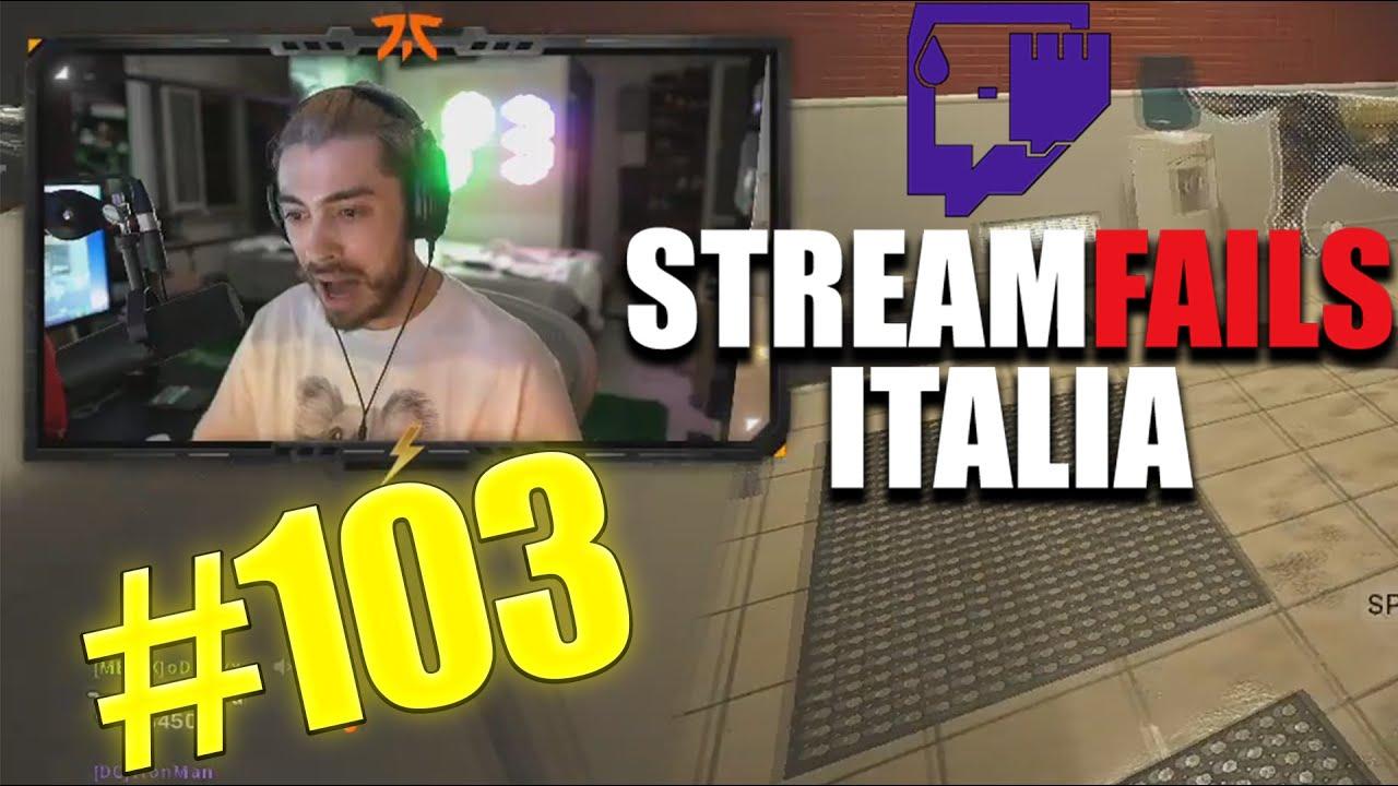 Stream Fails Italia Compilation #103 | Homyatol | POW3Rtv | Paoloidolo | Gskianto | Rekinss