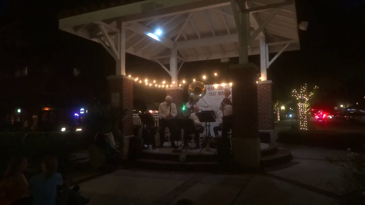 good times jazz band in downtown winter garden 8 25 17 youtube