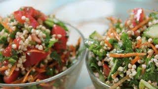 🍚 Рецепт: Табуле из зеленой гречки | творим с сетрой