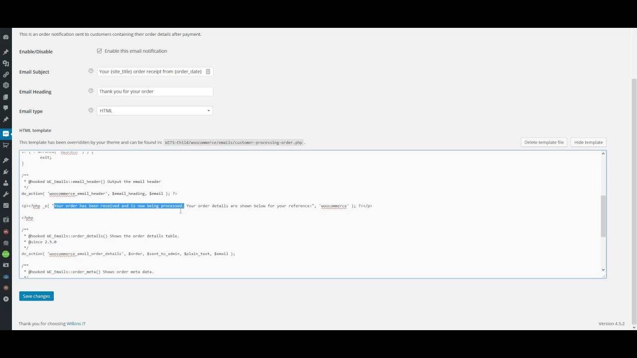 Customizing Your Email Templates In Woocommerce Youtube