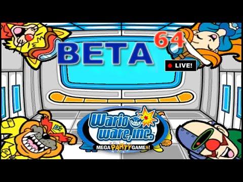 Beta64 Live - WarioWare: Mega Party Game$! w/ Friends (JFF)