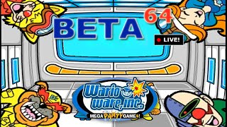 Beta64 Live - WarioWare: Mega Party Game$! w/ Friends (JFF)
