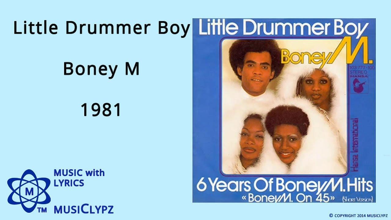 Download Little Drummer Boy - Boney M 1981 HQ Lyrics MusiClypz