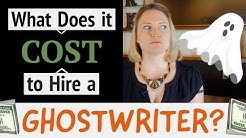 What Does it Cost To Hire a GREAT Ghostwriter