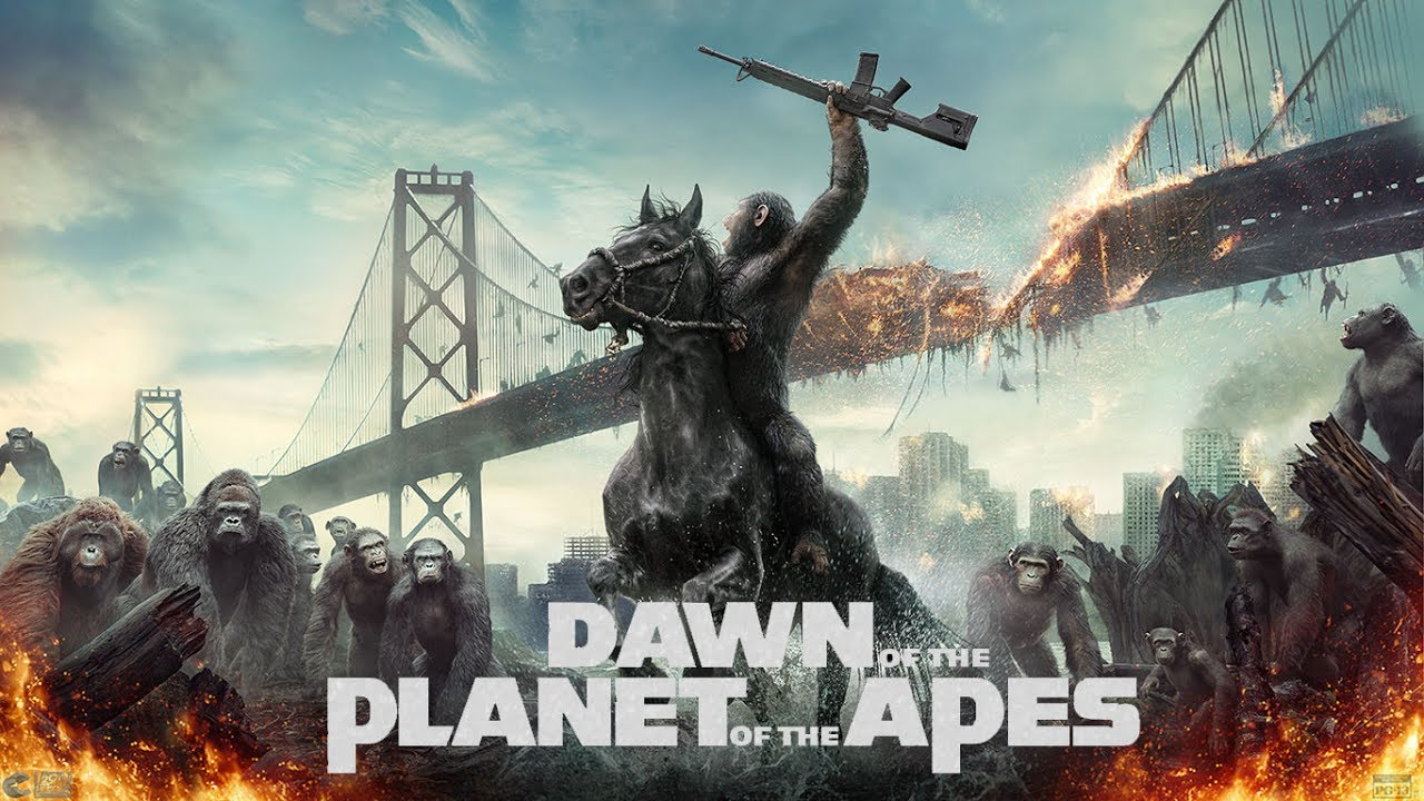 Dawn of the Planet of the Apes (2014) Movie Review - YouTube