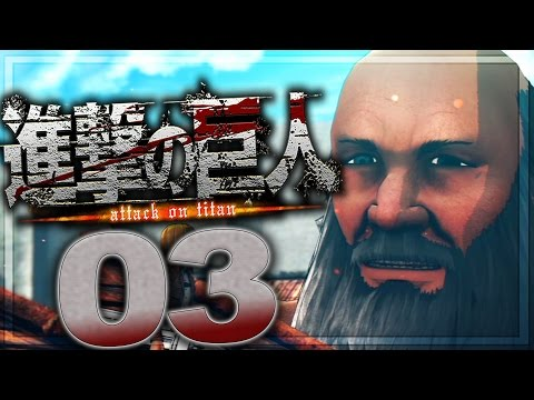 Attack on Titan (PS3) Walkthrough Part 3 | No Commentary Gameplay