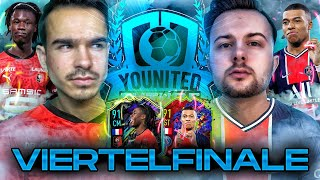 FIFA 21 : YOUnited  VIERTELFINALE - FeelFIFA vs GamerBrother 😱🔥 (Hinspiel)