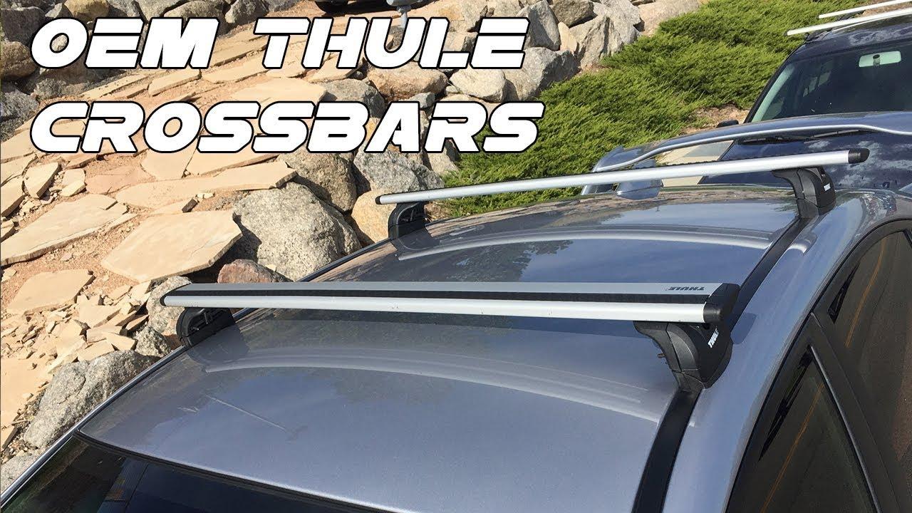 Subaru Genuine 2018 2019 2020 WRX /& STi Fixed Roof Rack Crossbar Cross Bar KIT OEM