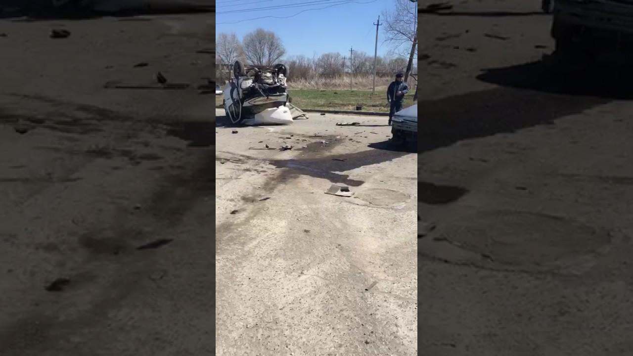 Авария в Ингушетии 4 апреля 2017