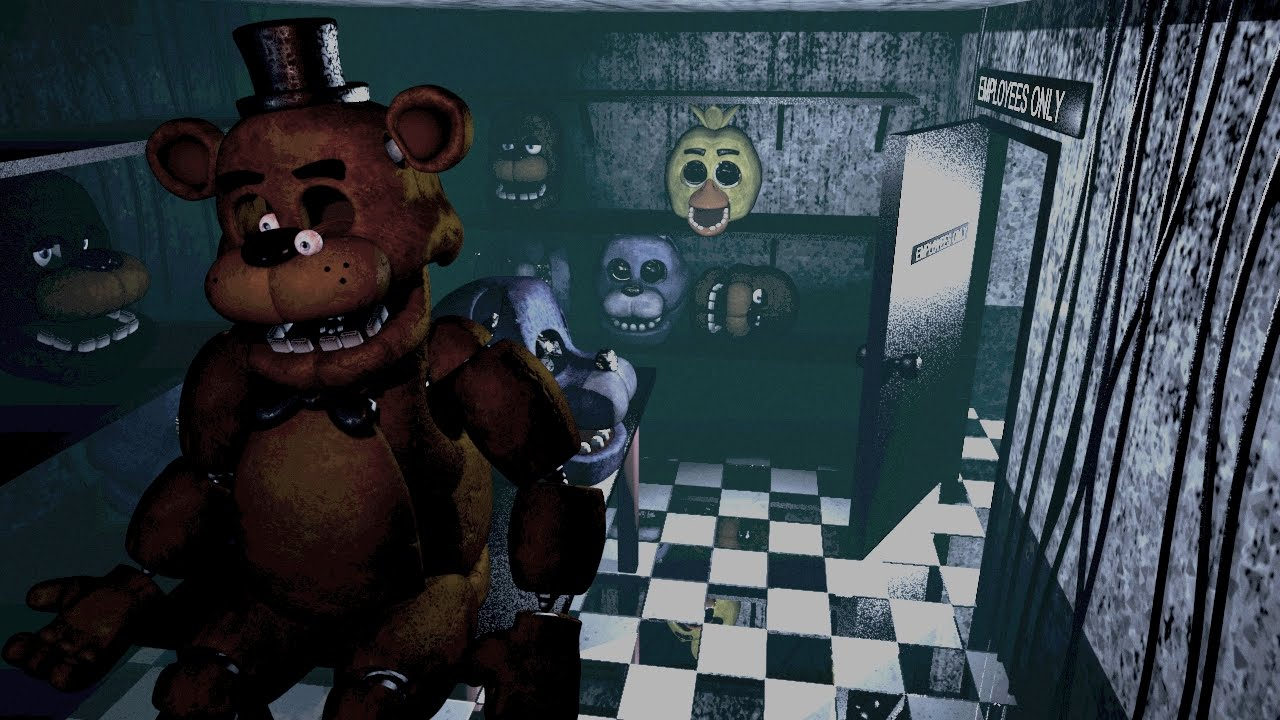 Image result for five nights at freddy's gameplay  freddy