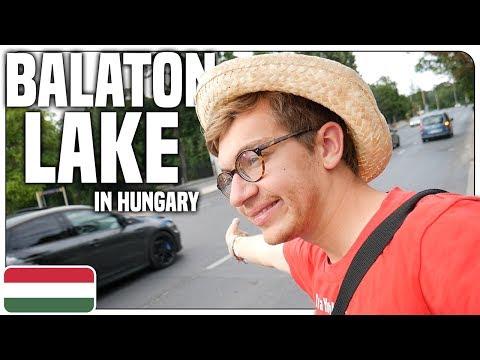 Hitchhiking at Balaton Lake in Hungary - Travel Vlog