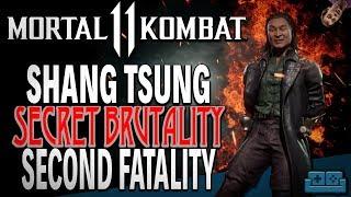MORTAL KOMBAT 11 | SHANG TSUNG BRUTALITY SECRET and 2nd FATALITY Unlock Guide