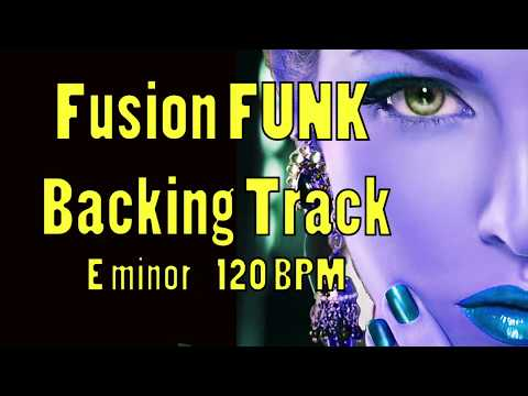 Fusion Rock Backing Track E Minor