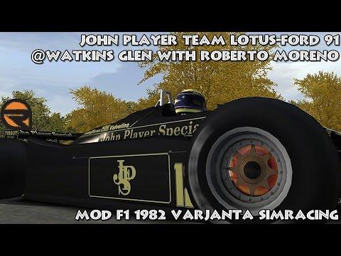 [rFactor] John Player Team Lotus-Ford 91 @ Watkins Glen with Roberto Moreno [HD]