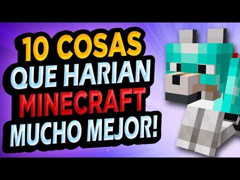 ✅ 10 Cosas Que Mejorarían Minecraft!! - Bobicraft