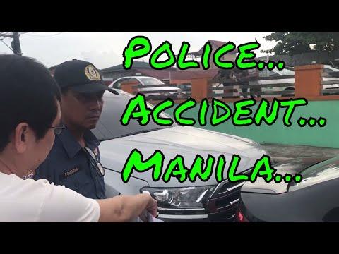 WE GOT IN A CAR ACCIDENT in MARIKINA CITY
