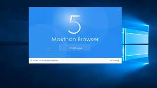 Maxthon Cloud Browser Download and Installation screenshot 2