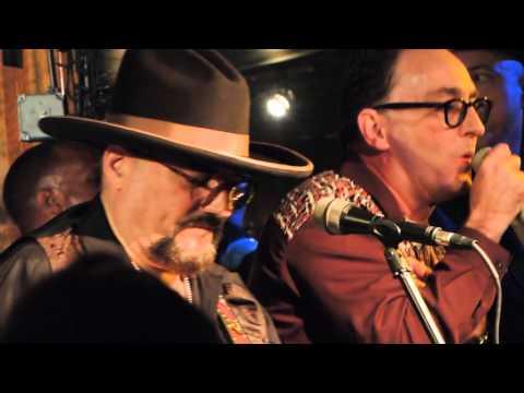 Tom Kenny w/Jimmy V and the B.C. Band at Deke's N.O. Tribute - 7