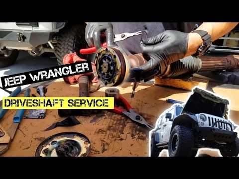 Driveshaft Boot Replacement Jeep Wrangler Jk Failing Cv Joint
